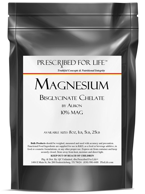 Magnesium Bisglycinate Chelate by Albion - 10% Mag, 55 lb