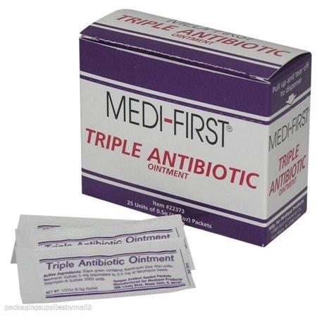 Medi-First Triple Antibiotic Ointment 0.5g