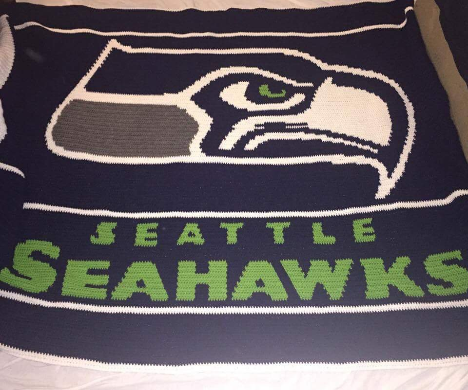 Seattle Seahawks Blanket (King)