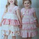 # Simplicity Pattern 1474 Childrens Girls Dresses Headband Size 2-6X New