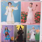 Simplicity Sewing Pattern 2845 Girls Child Costumes Size 2-4 6-8 10-12 New