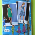 # Simplicity Sewing Pattern 1651 Misses Ladies Dresses Size 4-12 New