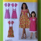 # Simplicity Sewing Pattern 1703 Children Girls Dress Bolero Size 3-6 New