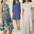 Burda Sewing Pattern 6821 Ladies Misses Dress Size 8-20 New