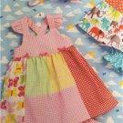 ** Ellie Mae Designs Sewing Pattern K0168 Baby Dolled Up Dress Panties S-XXL