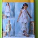 # Simplicity Sewing Pattern 1628 Children Girls Dress Tops Pants Size 3-8 New