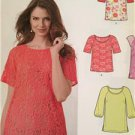 New Look Sewing Pattern 6225 Ladies Misses Top Size 8-20 New