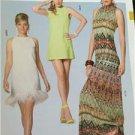 Burda Sewing Pattern 7056 Ladies Misses Dress Size US 6-18 / EUR 32-44 New