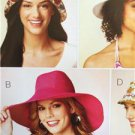 Kwik Sew Sewing Patterns 3885 Misses Ladies Hats Sizes S-M-L New
