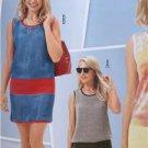 Burda Sewing Pattern 6654 Misses Shirt Dress Size 8-18 New