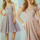Burda Sewing Pattern 6793 Ladies Misses Dress Size 8-18 New