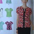 # Simplicity Sewing Pattern 1462 Misses Ladies Tops 6-14 New