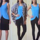 Butterick Sewing Pattern 6065 Misses Jacket Top Dress Skirt Pants Size 4-14 New