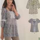New Look Sewing Pattern 6027 Ladies Misses Tunic or Tops Size 10-22 New