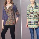 McCalls Sewing Pattern 7251 Ladies Misses Blouse Size 14-22 New