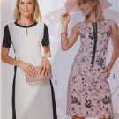 Burda Sewing Pattern 6642 Misses Dress Size 8-18 New