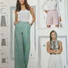 Burda Sewing Pattern 6812 Misses Ladies Pants Size 10-20 New
