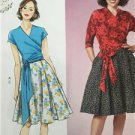 Butterick Sewing Pattern 6285 Misses/Ladies Top Skirt Size 6-14 New