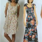 Butterick Sewing Pattern 6205 Misses Ladies Dress Size 4-14 XS-M New
