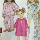 Butterick Sewing Pattern 4910 Girls Top Shorts Pants Gown Size 2-5 New