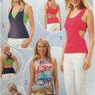 Burda Sewing Pattern 6656 Misses Ladies T-Shirt Size 6-16 New
