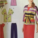 # Simplicity Sewing Pattern 1620 Misses Dress Tunic Pants Jacket Size 10-18 New