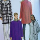 Butterick Sewing Pattern 6107 Ladies Misses Coat Size XS-M 4-14 New