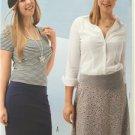 Burda Sewing Pattern 6717 Misses Ladies Skirt Size 16-26 New