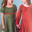 ** Ellie Mae Designs Sewing Pattern K0185 Girls Sweet Party Dress Size 3-10 New
