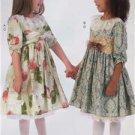 McCalls Sewing Pattern 7075 Childrens Girls Dresses Belt Petticoat Size 2-5 New