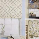 Butterick Sewing Pattern 5730 Waverly Four Window Shades &  Valance New