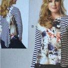 Butterick Sewing Pattern 6218 Ladies Misses Top Size 8-16 New Katherine Tilton