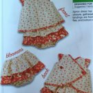 Kwik Sew Sewing Patterns 3901 Baby Infant Dress Bloomers Size S-XXL New