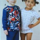 Kwik Sew Sewing Patterns 3510 Childs Toddlers Pajamas Top Pants Size 1-4 New