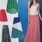 McCalls Sewing Pattern 6966 Ladies Misses Skirts Size L-XXL 16-26 New