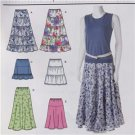 Simplicity Sewing Pattern 2609 Ladies Misses Skirts Size 16-24 New