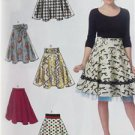 McCalls Sewing Pattern 7197 Misses Ladies Skirts Size 6-14 New