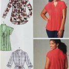 McCalls Sewing Pattern 6899 Misses Ladies Tops Tunics Size 4-14 XS-M New