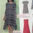 McCalls Sewing Pattern 7348 Ladies/Misses Dresses Size L-XXL 16-26 New