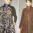 Butterick Sewing Pattern 6254 Ladies Misses Coat Dress Size XS-M 4-14 New Tilton