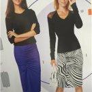 Burda Sewing Pattern 6634 Misses Ladies Skirt Size 8-18 New