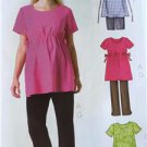 Butterick Sewing Pattern 4201  Misses Maternity Top Shorts Pants Size 8-12 New