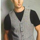 Vogue Sewing Pattern 8987 Mens Vest Size 34-40 New