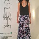 # New Look Sewing Pattern 6269 Misses Knit Skirts Two Lengths Size 8-18 New