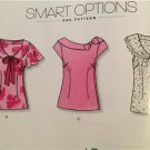New Look Sewing Pattern 6808 Ladies Misses Easy Tops Size 8-18 New
