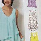 McCalls Sewing Pattern 6960 Misses Ladies Tops Tunics Size 4-14 XS-M New