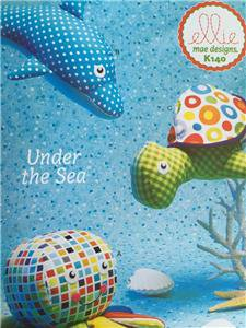 ** Ellie Mae Designs Sewing Pattern K0140 Under The Sea Turtle Dolphin Octopus