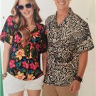 New Look Sewing Pattern 6197 Mens Misses Shirts Size 8-18 / XS-XL New