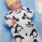 Butterick Sewing Pattern 5583 Baby Infant Bunting Jumpsuit Blanket Size NB-M New