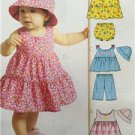 Butterick Sewing Pattern 6238 Infants Jacket Overalls Pants Size NB-XL New